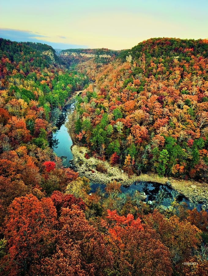 Little River Canyon National Preserve Is Located On Top Of Lookout Mountain Near Fort Payne Alabama And DeSoto State Park