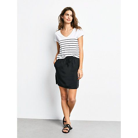 Buy hush Marseille Skirt, Black Online at johnlewis.com