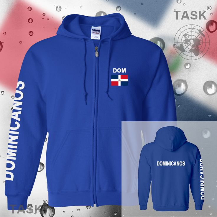>> Click to Buy << Dominican Republic mens hoodies and sweatshirt jerseys polo sweat new streetwear tracksuit nation fleece zipper flag Dominica #Affiliate