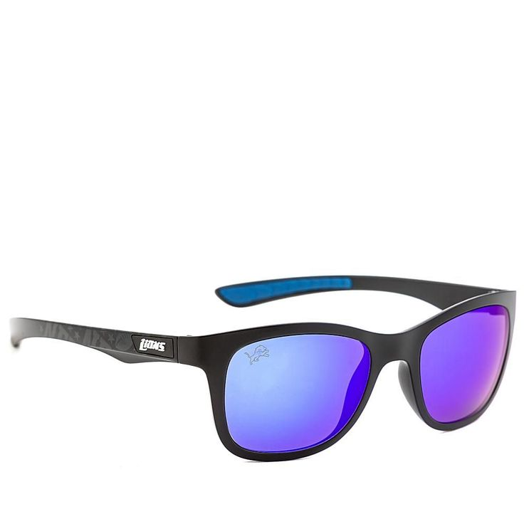 "Officially Licensed NFL ""Wayfarer"" Sunglasses by Eye Ojo - Lions"