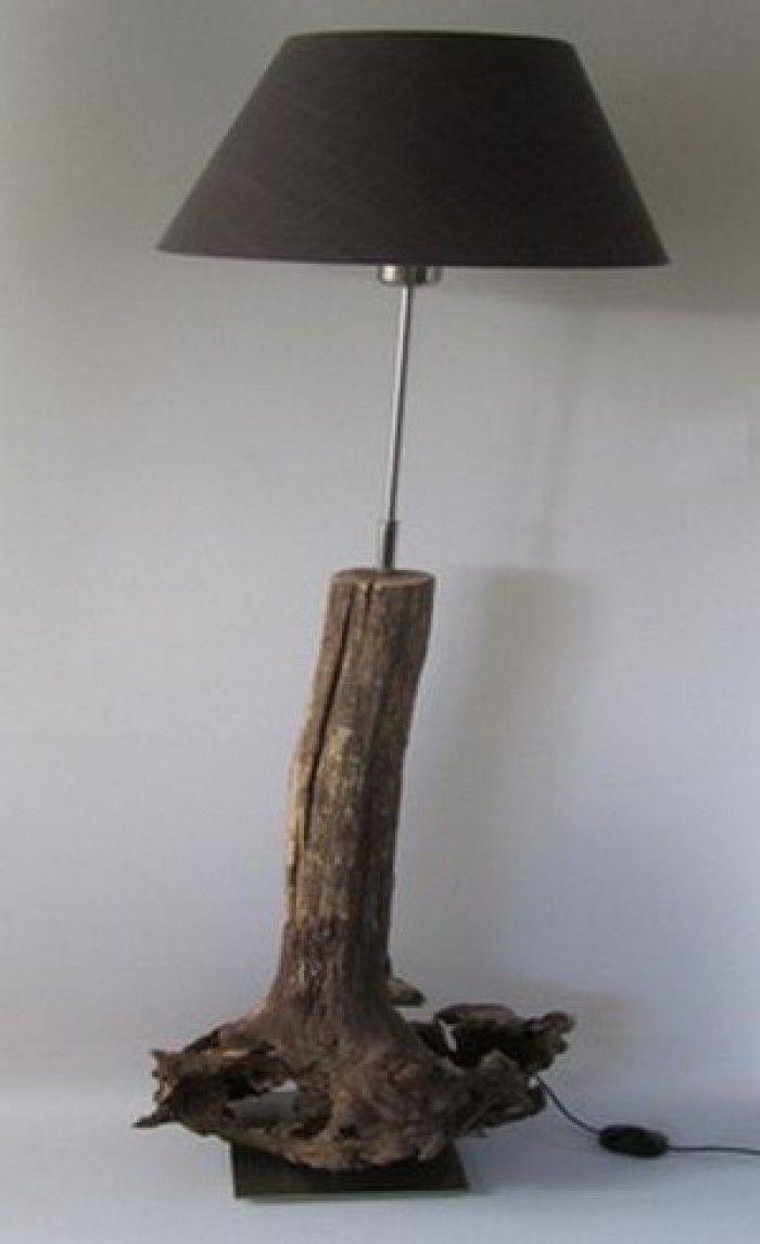De handgemaakte boomwortel van Inspired By Wood is een echte eyecatcher in ieder interieur!