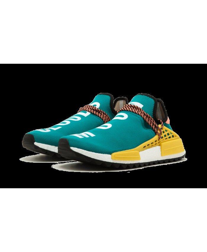 reputable site 8114a fd1da Cheap Adidas NMD Human Race Pharrell Williams Sun Glow Sale UK