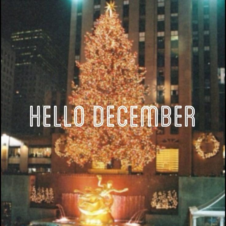 Perfect +/ Hello December.