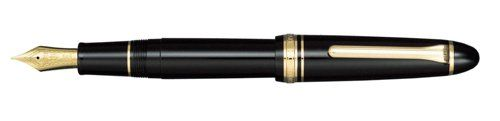 Sailor 1911 Large Black GT 21K Gold Medium Point Fountain Pen - 11-2021-420
