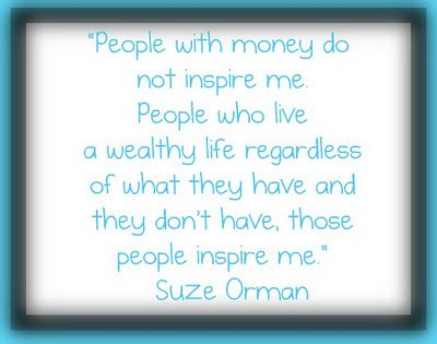 Suze Orman on Wealth and Money <3