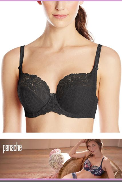 d88a0278d6 Panache Women s Envy Stretch Lace Full-Cup Bra 34gg bras for large breast   BrasForLargeBreast