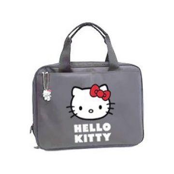 """Geanta Hello Kitty Gri Laptop/Tableta 13"""" - Huse"""