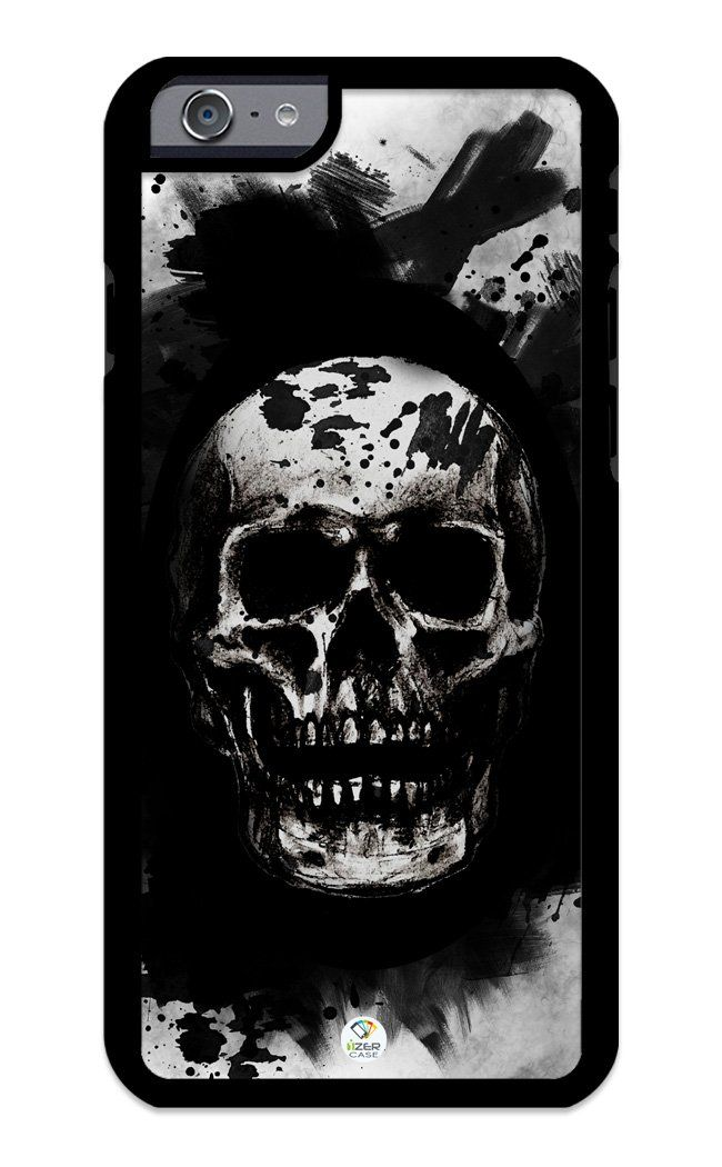 iZERCASE iPhone 6, iPhone 6S Case Skulls On a Brushed Black Background RUBBER CASE - Fits iPhone 6, iPhone 6S T-Mobile, Verizon, AT&T, Sprint and International. COLOR OPTIONS: Our rubber cases come in black and white options as shown in pictures above. PL