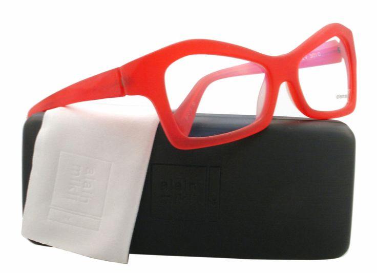 NEW Alain Mikli Eyeglasses AL 0929 Red 3010 AL0929 54mm 350.00