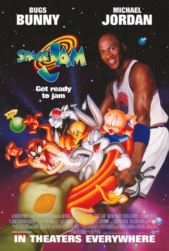 Space Jam 11x17 Movie Poster (1996)