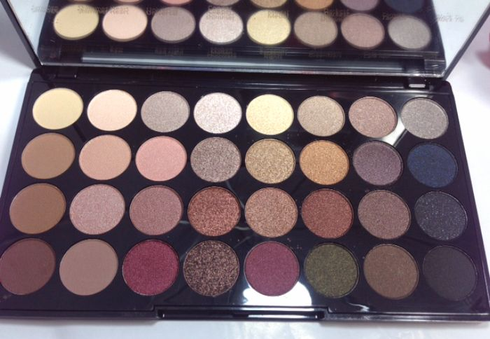 Makeup Revolution Ultra 32 Shade Eyeshadow Palette in FLAWLESS MAKEUP REVOLUTION REALLY HAS SOME NICE PALETTES☺️