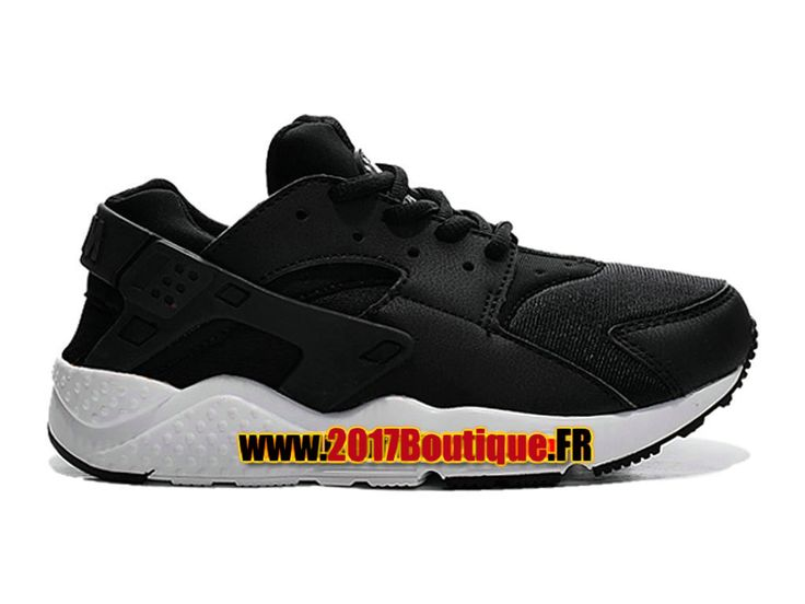 Nike Huarache Run (PS) Chaussure Nike Sportswear Pas Cher Pour Enfant Noir/Blanc 704951-020