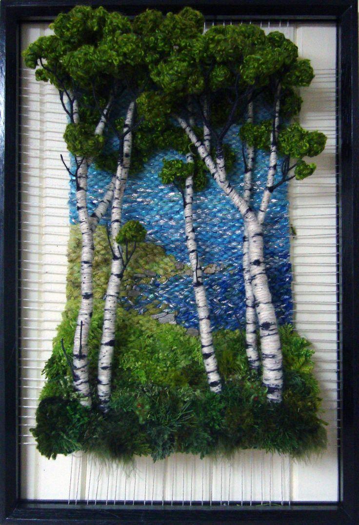 Fiber Art Projects Dimensional Weaving Martina Celerin