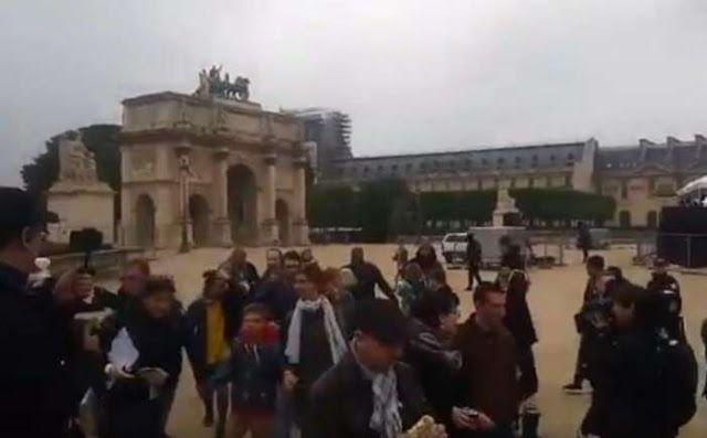 Πιερία: Γαλλία: Εκκενώθηκε το Λούβρο