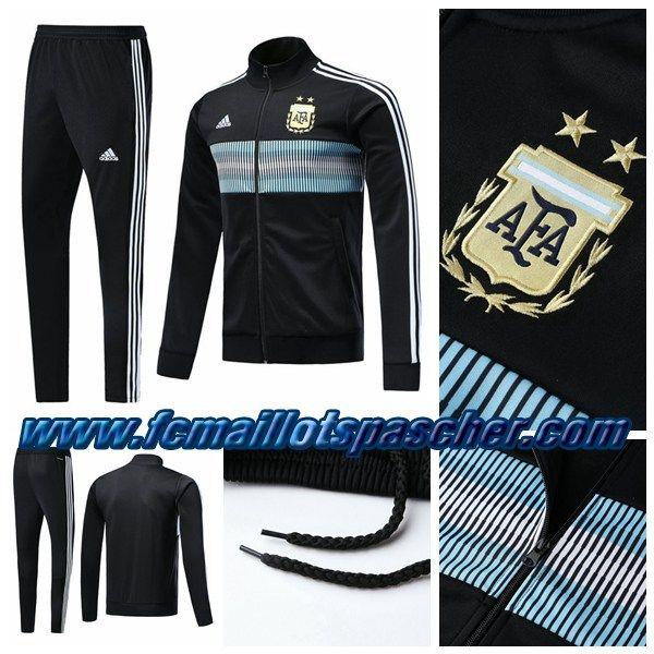 Argentine Cher Foot Veste Noir Adidas Pas Survetement Thailande A6qanYtAw