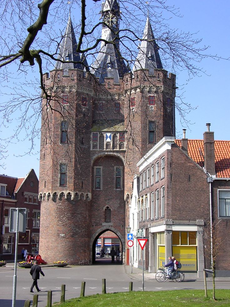 Sassenpoort Zwolle, The Netherlands