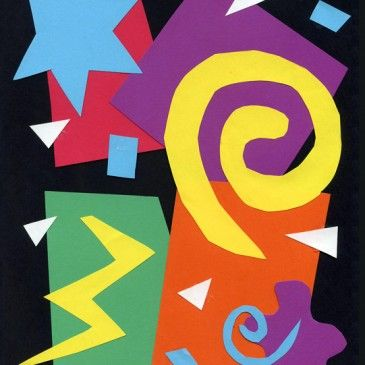 Art Projects for Kids - inspired by famous artists. This is what I've been looking for to use in our homeschool this year!   (For example: Make a Matisse Collage)