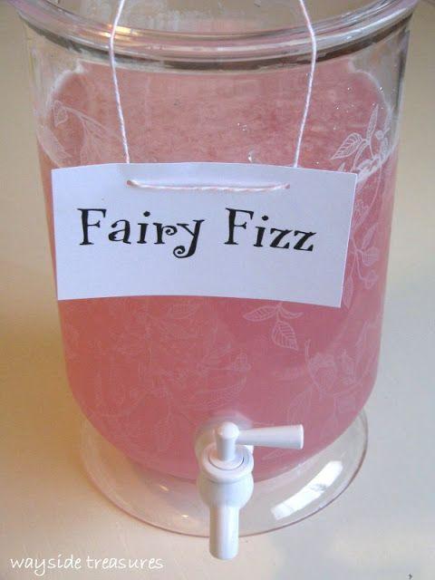 Wayside Treasures: Fairy Fizz - Pink Lemonade & 7 UP