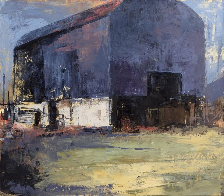 """Barn, West of Ireland"", (2001), by Donald Teskey"