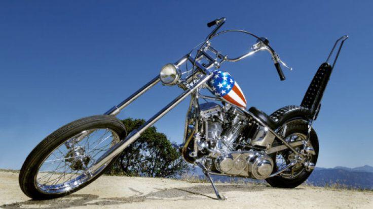 captain america harley | Harley-Davidson 'Captain America' bike from Easy Rider ...