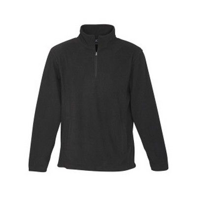 Mens Binding Trim Half Zip Jacket Min 25 - A 200gsm 100% polyester low pill fabric with its new contemporary fit & style. http://www.promosxchange.com.au/mens-binding-trim-half-jacket/p-10918.html