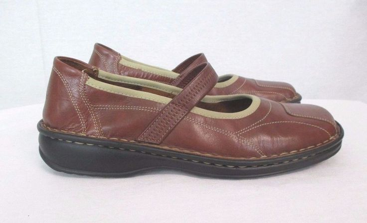 Women's Josef Seibel Shoes Sz 9 Mary Janes Brown Leather European Comfort  40 EU  http://www.ebay.com/itm/Josef-Seibel-Mary-Jane-Brown-Leather-European-Comfort-Shoe-Slip-On-Loafer-Sz-9-/232085092240?