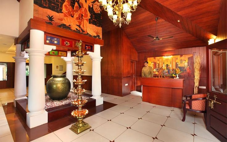 The #reception at #Fragrant #Nature #Resort is extremely warm and #greets you with open arms! A #RareIndia #Retreat Explore More: http://bit.ly/VOPNID