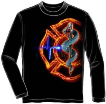 firefighter apparel | Long Sleeve Firefighter T Shirts for Men and Women