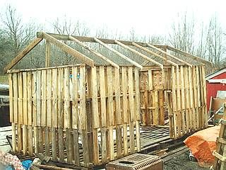 Pallett woodshed.  Or playhouse!