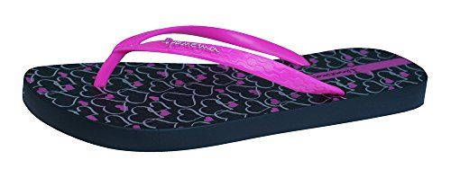 Ipanema Temas Womens Flip Flops  SandalsBlack  Pink8 *** Check out the image by visiting the link.