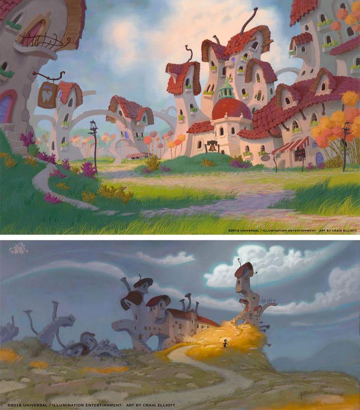 Dr. Seuss animation concepts