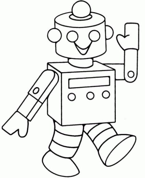 roboter ausmalbild malbilder  malvorlagen für jungen