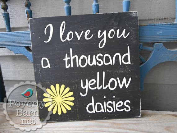 """This wooden sign: 