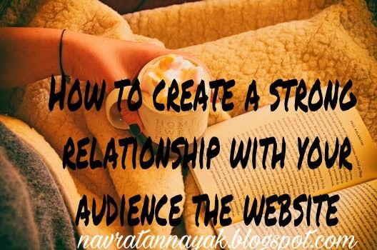 किसी भी वेवसाइट को आगे बढाने के लिए जरूरी होता है कि दर्शको के साथ मजबुत रिश्ते बनाये!  तभी आपको उनक...