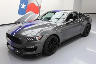 eBay: 2016 Ford Mustang Shelby GT350 Coupe 2-Door 2016 FORD MUSTANG SHELBY GT350 5.2L 6-SPEED TECH NAV 2K #522266 Texas… #fordmustang #ford