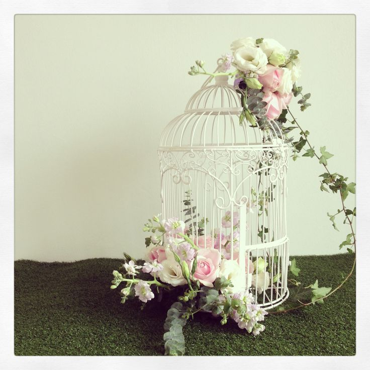 Bird cage centerpiece