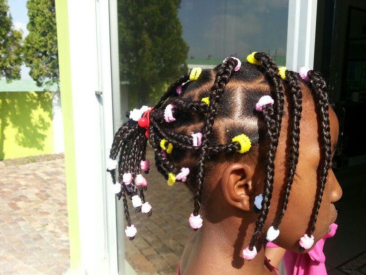 Kiddies hairstyle