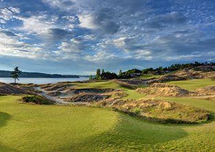 Chambers Bay Golf Course, WA