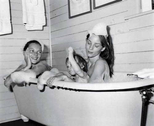 Bruce Weber Kate Moss bain
