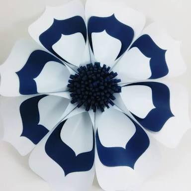 Resultado de imagem para molde flor de eva