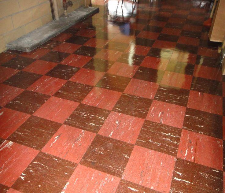 Retro Checker Floor Tile Asbestos 9x9 Asbestos Tiles Tile Floor Flooring 9x9 Covering Removal Vinyl Retro F In 2020 Asbestos Tile Tile Floor Checkered Floors