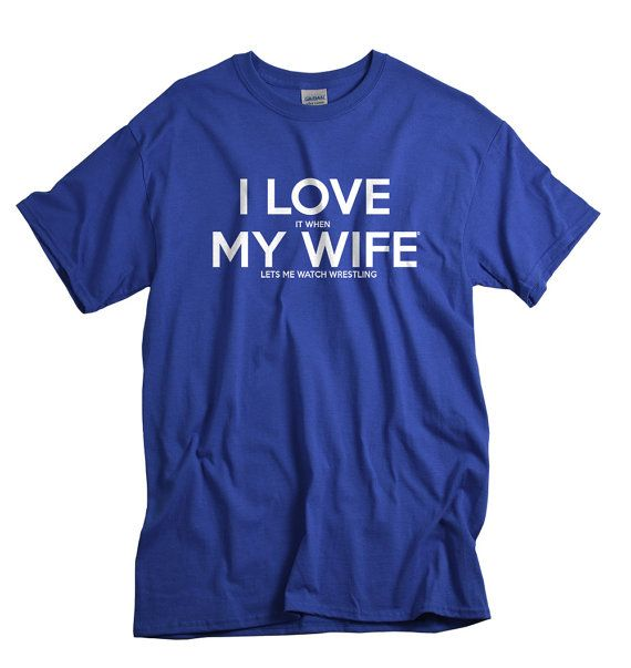 Wrestling Tshirts for husband from wife Christmas gift for husband pro wrestling fan by UnicornTees