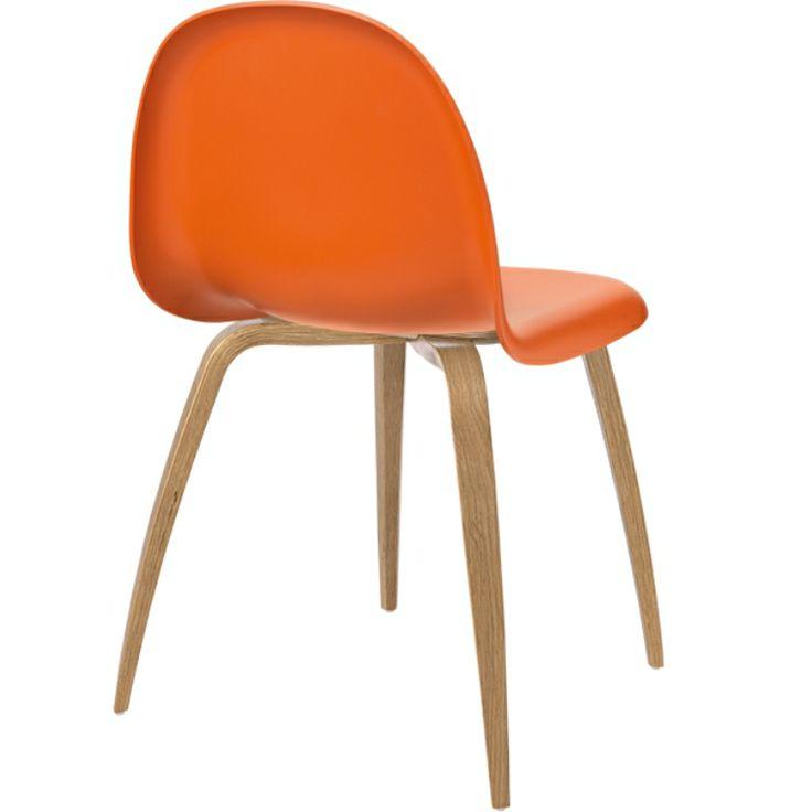 Gubi 5 Stol, Sits Orange Sweet / Ben Ek