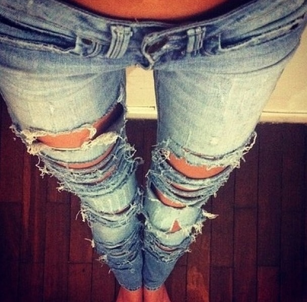 tan thigh gap ripped skinny jeans perfect fashion. Black Bedroom Furniture Sets. Home Design Ideas