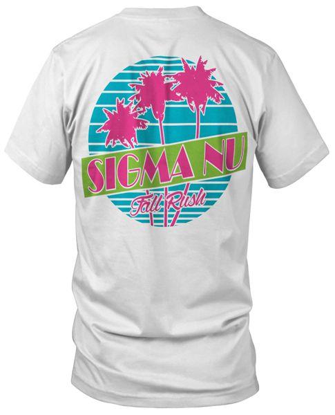 Sigma Nu Retro Rush T-shirt   Fraternity T-shirts   Greek T-shirts   Rush T-shirts   MetroGreek   Greek Life   Sigma Nu T-shirts
