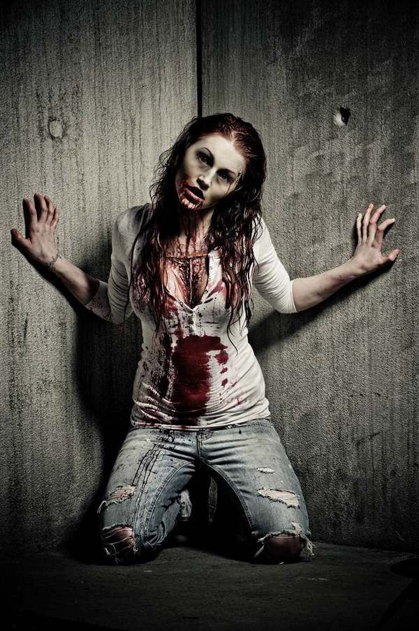 womens halloween costumes zombie