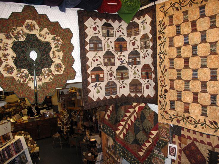 Virka quilt shop in Iceland