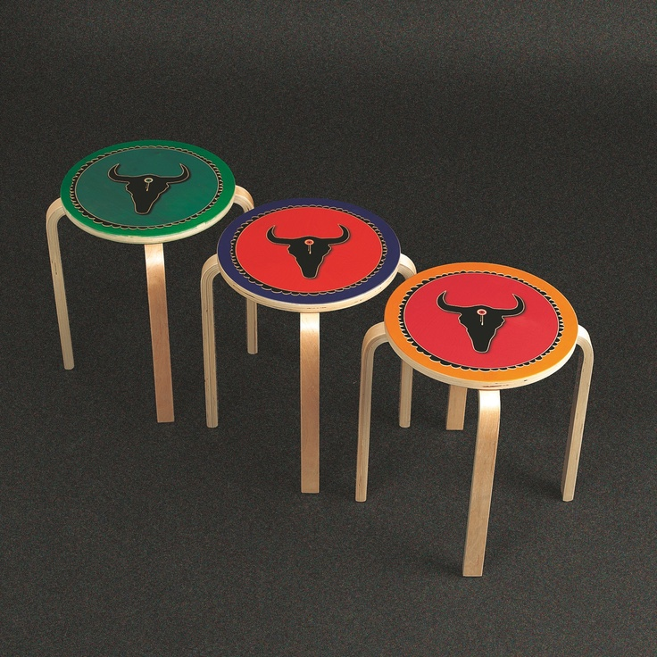 -Product: Stool -Material: Wood -Thickness: 30 mm -Print: UV fullcolour