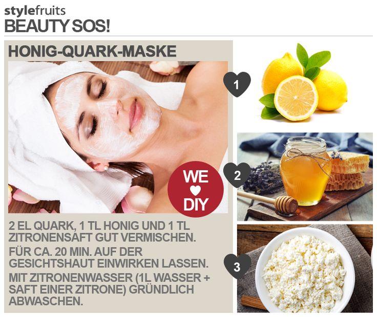 honig quark maske neu beauty pinterest gesichts masken masken und gesicht pflege. Black Bedroom Furniture Sets. Home Design Ideas