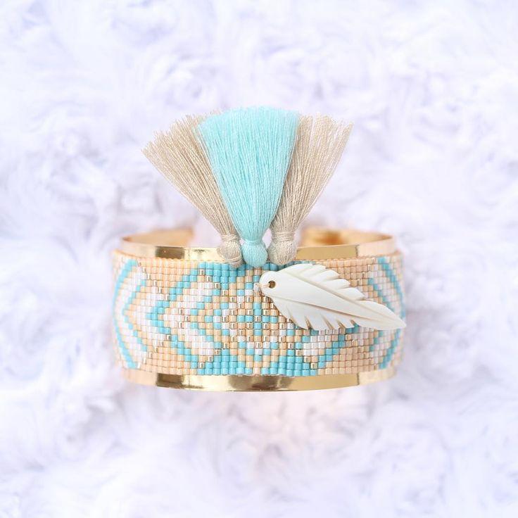 Bracelet Manchette Miyuki